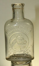 ANTIQUE HUMPHREYS HOMEOPATHIC VETERINARY SPECIFICS MEDICINE BOTTLE HORSE 3 1/2''