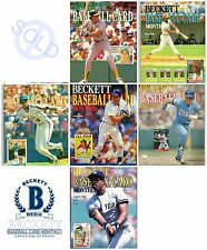 1988 Beckett Baseball Trading Card Monthly Price Guide Prints Photographs