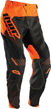 Thor NEW 2016 Mx Gear Core Hux Black Orange BMX MTB Motocross Dirt Bike Pants