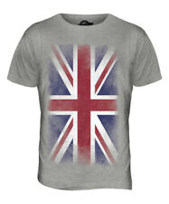 UNION JACK FADED FLAG MENS T-SHIRT TEE TOP UK GB GREAT BRITAIN UNITED KINGDOM