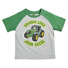 John Deere Toddler Tee Grandpa Loves John Deere