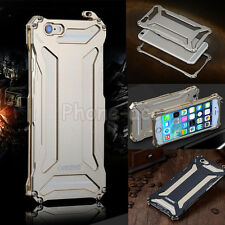 Durable Metal Aluminum Tough Armor Bumper Case Cover For iPhone Samsung Galaxy