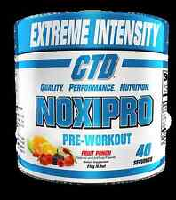 CTD SPORTS NOXIPRO EXTREME PRE WORKOUT 40 SERVINGS NEW FORMULA DISCOUNTED NEW