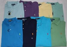 New Polo by Ralph Lauren Big& Tall Men's Classic Polo Shirt Top Iconic Mesh