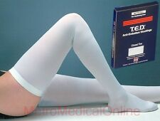 Kendall TED Anti-Embolism Thigh High Closed Toe Stockings for Continued Care