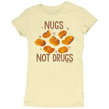 David and Goliath Womens T-shirt - Nugs Not Drugs