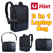 3in1 Laptop Notebook Shoulder Bag Backpack Carry Case Briefcase Up to 16.5''