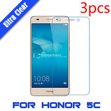 3x Hign Clear LCD Screen Protector Film Skin Cover HD Guard For Huawei Honor 5C