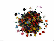 Crafting felt geometric shapes 50grams assorted colours