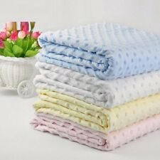 Soft Newborn Bath Towel Baby Fleece Sleeping Blankets Swaddle Wrap Infant Swaddl