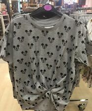 Ladies MICKEY MOUSE DISNEY T Shirt Primark Cropped Tee Top