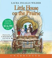 NEW Little House on the Prairie by Laura Ingalls Wilder Compact Disc Book (Engli
