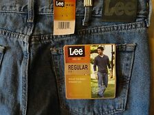 Brand new with tags! Mens LEE REGULAR FIT Denim Blue Jeans MEMPHIS Straight Leg