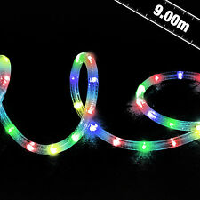 9m LED Multi-Action Rope Light - Indoor Outdoor Festive Party Event