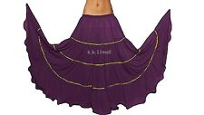 Chiffon Gypsy 25 Yard Belly dance skirt Tribal Women Skirt Jupe Costume