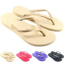 WOMENS HAVAIANAS SLIM FLIP FLOPS ORIGINAL BOX BRASIL BRAZIL LADIES SANDALS 3-8