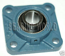 """NEW High Quality UCF205-14   7/8"""" Set Screw Insert Bearing with 4-Bolt Flange"""