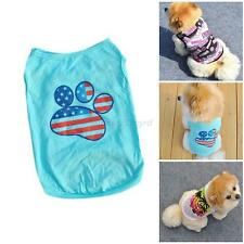 Pet Dog Apparel Vest Puppy Doggy Cats Coat Clothes T-shirt Summer Vest XS/S/M/L