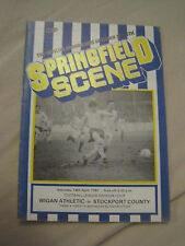 Wigan Athletic Programmes