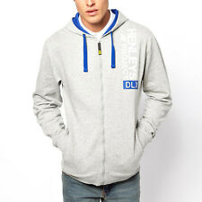 Henleys Refo Mens Hoodie Light Grey