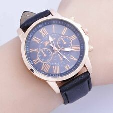 vintage mens military automatic leather sports watch Wristwatches Statement