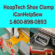 HoopTech Shoe Clamp & Bracket-Bardan Happy HCA Tajima Toyota SWF Melco EMT+ More