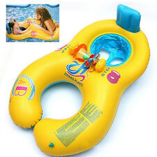 Child PVC Pool Fun Inflatable Safe Float Swim Ring for Baby Parent HaveFun Time