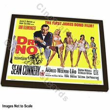 OFFICIAL 50th Years 007 James Bond Sean Connery Dr NO Art Print +/- Frame (#1)
