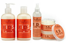SHEA MOISTURE KIDS SHAMPOO, CONDITIONER, DETANGLER & CURLING BUTTER CREAM