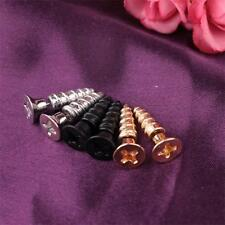 Creative Punk Style Personality Screw Lag Spike Stud Piercing Stud Earring Hot