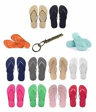ORIGINAL HAVAIANAS SLIM WOMENS LADIES GIRLS BEACH SANDALS FLIP FLOPS THONGS