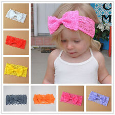 2pcs New children's hair accessories baby hair band lace bow headband headdress