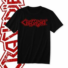 Crashdiet Hard Rock Logo T-shirt Men's Black With Red Tee Shirt M - 3XL