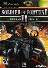 Soldier of Fortune II: Double Helix (Microsoft Xbox, 2003) Polished/Tested/Works