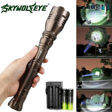 4000 Lumen 5 Modes CREE XML T6 LED Torch Lamp Light 18650 Zoomable Flashlight