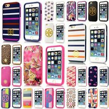 New Tory Burch Colorful Hybrid Hardshell Case Cover For iPhone 6 &iPhone 6 Plus