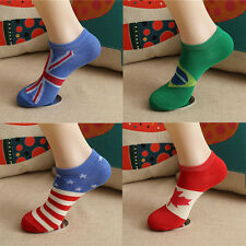 Fashion New Men Ankle Socks Low Cut Crew Casual Sport Color Cotton Socks 1 Pair