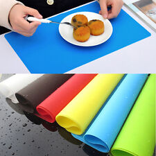 Hot Silicone Pastry Bakeware Baking Tray Oven Rolling Kitchen Bakeware Mat Sheet