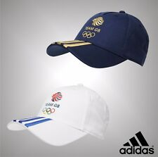 Mens Genuine Adidas Summer Olympics Team GB Logo Baseball Cap Hat Accessories