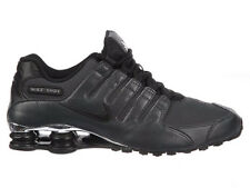 CLASSIC MENS NIKE SHOX NZ RUNNING SHOES TRAINERS ANTHRACITE / BLACK / COOL GREY