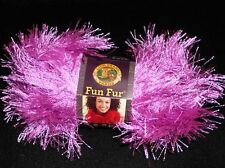 Lion Brand Fun Fur Yarn  Many Colors to Choose From