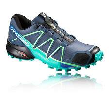 Salomon Speedcross 4 Womens Blue Trail Running Shoes Trainers