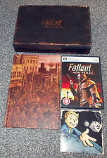 FALLOUT NEW VEGAS COLLECTORS EDITION PC DVD GAME 'FREE POST' BIG BOX ART BOOK UK