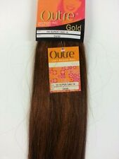 """100% HUMAN HAIR TANGLE FREE; SUPER YAKI WEAVE 14""""; OUTRE GOLD; STRAIGHT;WOMEN"""