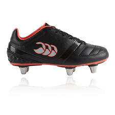 Canterbury Phoenix Club 6 Junior Black Studs Rugby Boots Sports Shoes Pumps