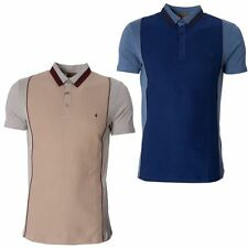 Gabicci Designer Mens Polo Shirt Button Down Collar Short Sleeve Top Size S-XXL
