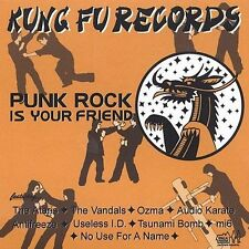 Punk Rock Is Your Friend by Various Artists (CD, Jun-2002, Kung Fu Records)