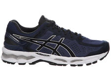 NEW MENS ASICS GEL-KAYANO 22 RUNNING SHOES TRAINERS MEDITERRANEAN / BLACK