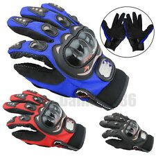 Pro-Biker 1 Pair Motorbike Motocross Fiber Bike Racing Motorcycle Sports Gloves