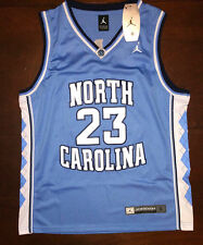 #23 Michael Jordan BABY BLUE UNC North Carolina Tarheels Basketball Jersey